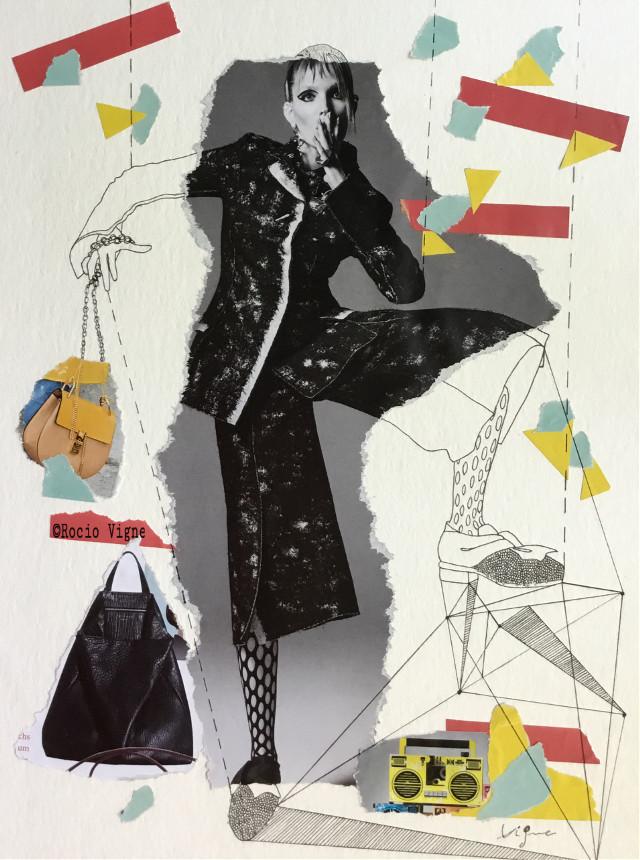 Collage by Rocio Vigne #illustration #illustrationoftheday #draw #drawing #rociovigne #vigneillustration