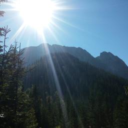 jesień october2015 tatry mountains sun