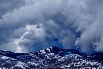 nature landscape mountains storm wasatch freetoedit