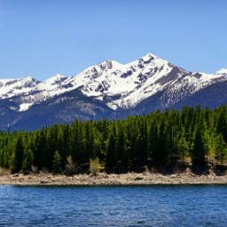 nature mountains landscape nationaltrailsday sky