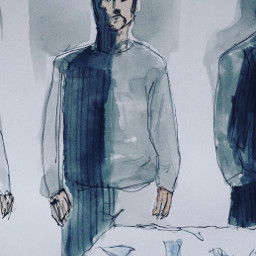 sketch watercolour ink theprometeus freetoedit