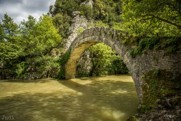 bridge river fairyland nature spring