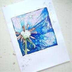 sketch drawing markers nature colorsplash