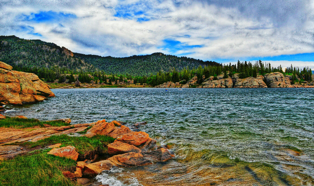 #nature #water #lakes #mountains #colorful #colorado #photography #freetoedit