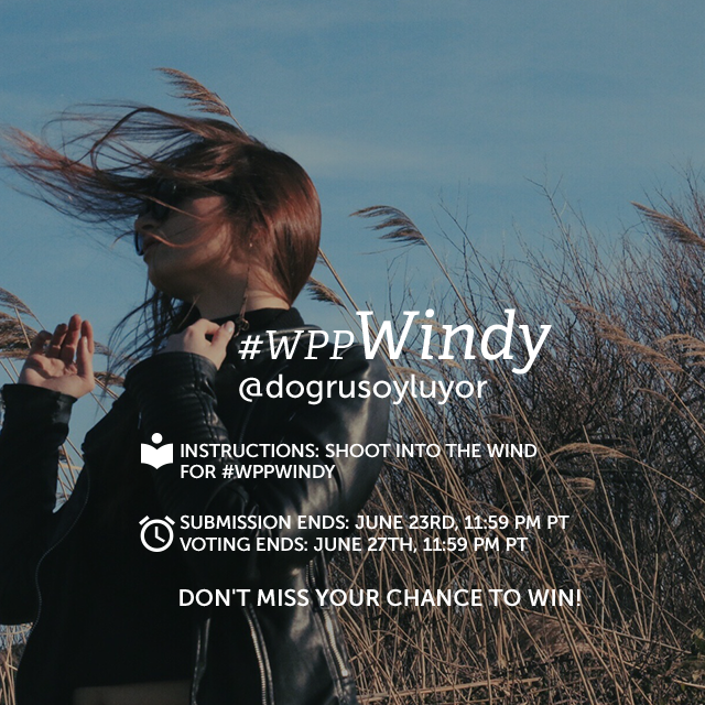 Capture photos that take advantage of wind power for our Weekly Photo Project! Shoot windy weather and put your photos to the test by entering them into this week's contest with the hashtag #wppWindy. (Banner image by @dogrusoyluyor )