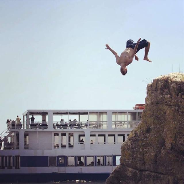 #summer  #travel  #stuntman  #actor  #male #cliffjumper  #suit  #bathingsuit  #swimsuit  #model  #beach  #nature  #blue  #farry  #backflip  #cliffjumping  #cliff  #water  #lake  #people  #stunt  #photo  #photography  #cool  #fun  #boat