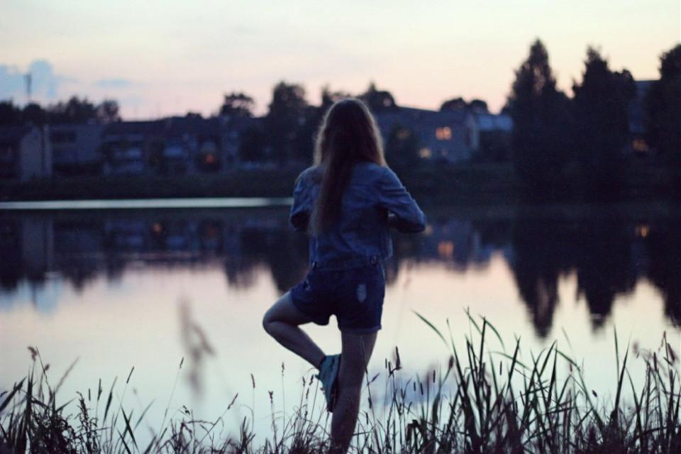 #FreeToEdit  #nature  #sunset #summer  #evening