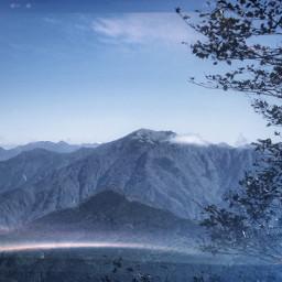 nature mountain hiking mountaineering landscape