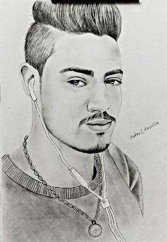 freetoedit pencilart sketch me music