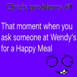 interesting relatable mcdonalds happymeal wendy