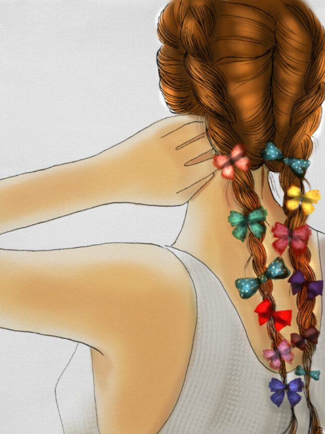 #FreeToEdit candy hair