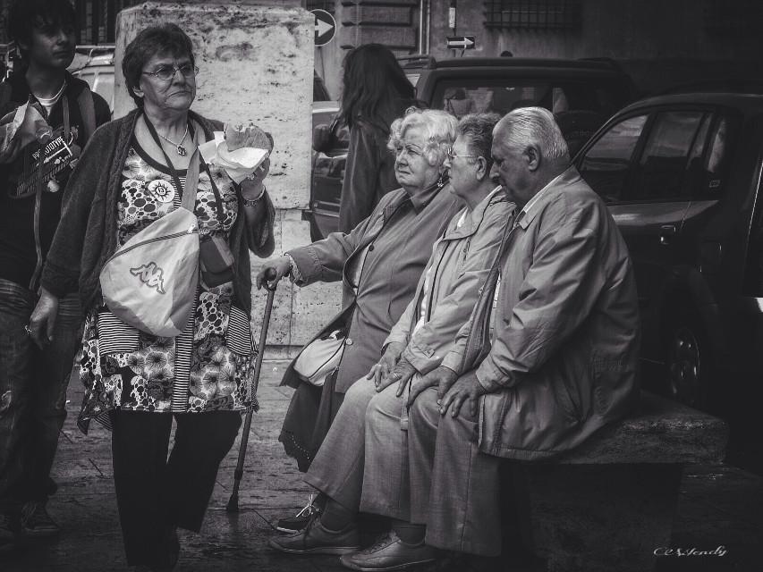 #streetphotography #people #blackandwhite #emotion