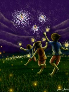 wdpsparklers colorful cute emotions nature