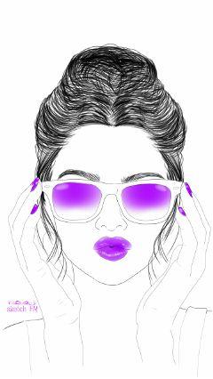 wdpcrazylips digitalart sketchfm sketch drawing wdphairstyle wdpsketchportrait freetoedit