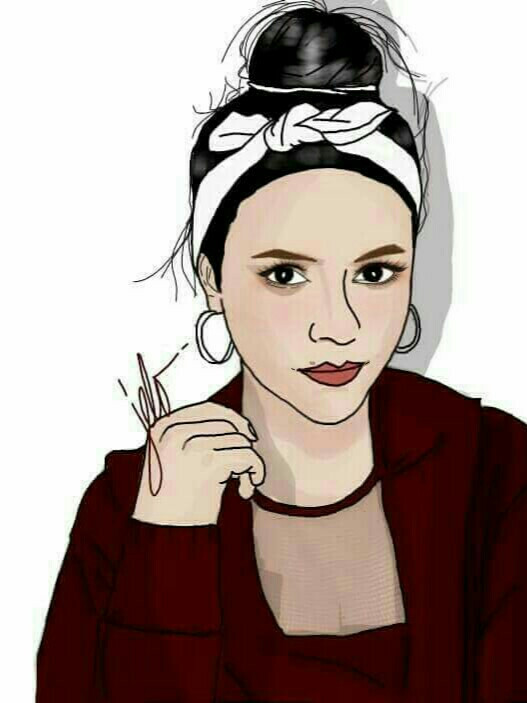 Claire Ruiz Hartell  #beauty #cartoonized #ignitionbabe #rock*well #afterpartychallange