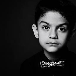 art blackandwhite portrait studio monochromephotography boy