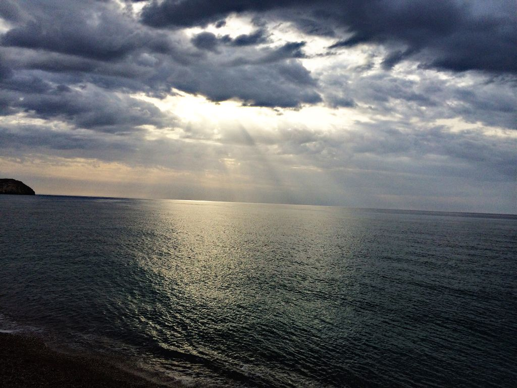 #beach #nature #sea #photography #summer #clouds #greece