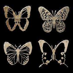 freetoedit butterfly butterflies white