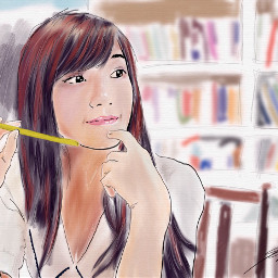 drawing painting watercolor sketch model freetoedit