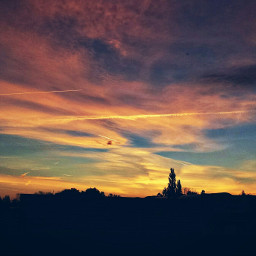 dream sunset autumn gorgeous sky day