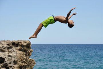 freetoedit diving sport summer human