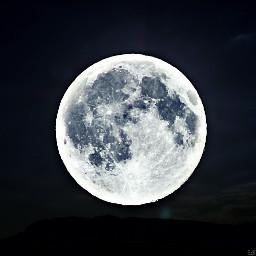 freetoedit moon edited madewithpicsart night