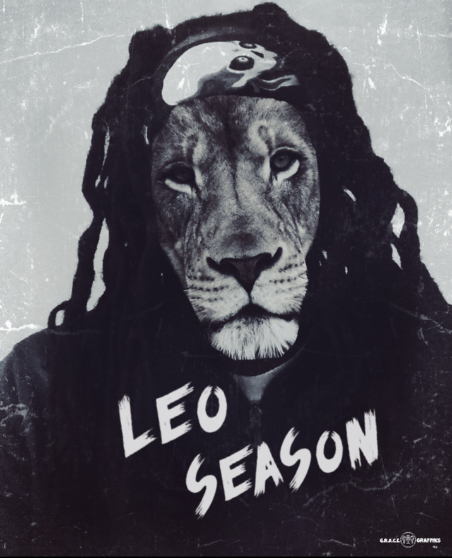 #LeoSeason #GraceGraffiks #GrindRightAndConquerEverything