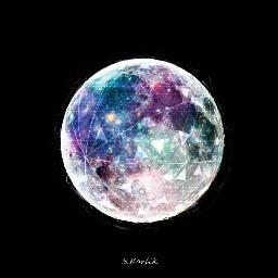 freetoedit moon dream color beautiful