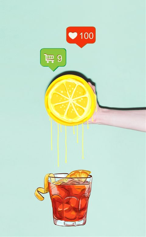 #cocktail,#lemon,#fruits,#juice,#summer,#freetoedit